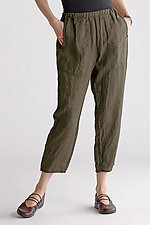 Berlin Cropped Pant by Cynthia Ashby  (Linen Pant)