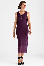 Sleeveless Mesh Dress by Cynthia Ashby  (Knit Dress)
