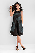 Circle Dress by Cynthia Ashby (Linen Dress)