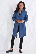 Tencel Duster by Cynthia Ashby  (Woven Jacket)
