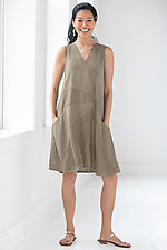 Pinwheel Dress by Cynthia Ashby  (Linen Dress)
