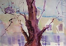Winter Tree by Alix Travis (Watercolor Painting)