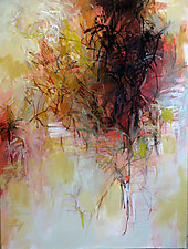 Autumn's Breath by Debora  Stewart (Oil Painting)