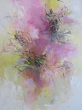 Floral Impression by Debora  Stewart (Acrylic Painting)