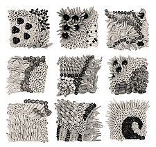 Clay Canvases by Regina Farrell (Ceramic Wall Sculpture)