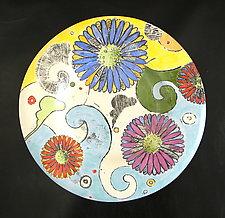 Small Platter by Regina Farrell (Ceramic Platter)