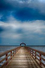 Waimea Dock by Lori Pond (Color Photograph)