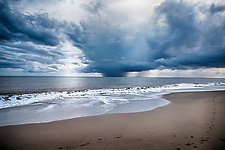 Approaching Storm by Lori Pond (Color Photograph)