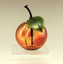 Stonefruit Perfume by Garrett Keisling (Art Glass Perfume Bottle)