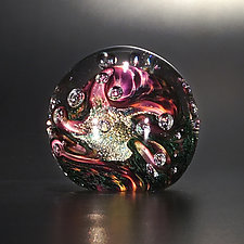 Crystal Cave by The Glass Forge (Art Glass Paperweight)