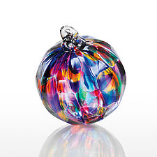 Gardens of Babylon by The Glass Forge (Art Glass Ornament)