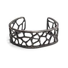 Short Triangle Cuff by Natalie Frigo (Silver Bracelet)