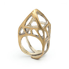 Rooftop Ring by Natalie Frigo (Brass Ring)