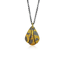 Tiny Wong Pendant by Jenny Reeves (Gold & Silver Necklace)