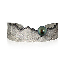 Alpine Cuff by Jenny Reeves (Silver & Stone Bracelet)