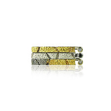 Stacking Bar Rings by Jenny Reeves (Gold, Silver & Stone Rings)