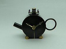 Tea Time by Mary Ann Owen and Malcolm  Owen (Metal Clock)