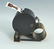 Forever Stamp by Mary Ann Owen and Malcolm  Owen (Metal Stamp Holder)