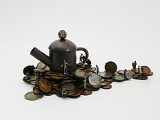 Liquid Assets by Mary Ann Owen and Malcolm  Owen (Metal Sculpture)