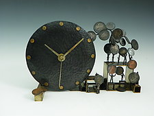 Change is in the Air by Mary Ann Owen and Malcolm  Owen (Metal Clock)