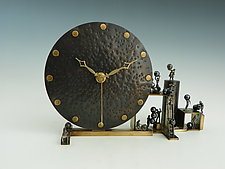Spare Time by Mary Ann Owen and Malcolm  Owen (Metal Clock)