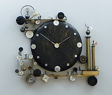 A Stitch in Time by Mary Ann Owen and Malcolm  Owen (Metal Clock)