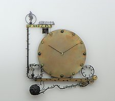 The Time Has Come by Mary Ann Owen and Malcolm  Owen (Metal Clock)