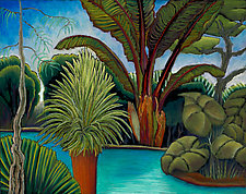 Tropical Dream by Jane Aukshunas (Pastel Painting)