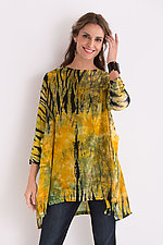 Swallowtail Tunic by Michael Kane (Shibori Tunic)
