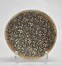 Paisley Bowl by Kelly Jean Ohl (Ceramic Bowl)