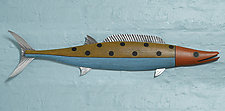 Wahoo by Paul Sumner (Wood Wall Sculpture)