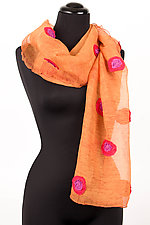 Bright Dot Scarf by Deborah Murphy  (Silk Scarf)