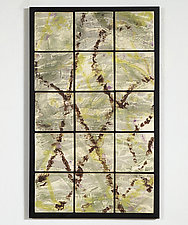 Change of Season by Kristi Sloniger (Ceramic Wall Sculpture)