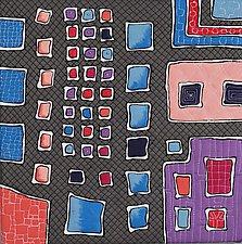 Windows IV by K. Velis Turan (Fiber Wall Hanging)