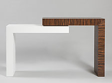 Stepped Console by Todd Leback (Wood Console Table)