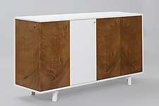 Offset Credenza by Todd Leback (Wood Sideboard)