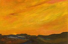 Sunset by Albert Barcilon (Oil Painting)