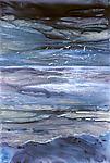 Evening Storm by Maureen Kerstein (Giclee Print)