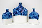 Horizon Edward Flask by Regina Farrell (Ceramic Flask)