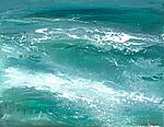 Ocean Waves by Maureen Kerstein (Giclee Print)