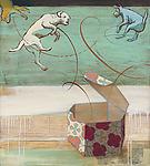 Pandora's Dogs by Jacqui Larsen (Giclee Print)