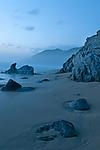 Blue Beach by Lori Pond (Color Photograph)