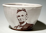 Abe Lincoln Bowl by Justin Rothshank (Ceramic Bowl)