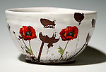 Poppy Bowl by Justin Rothshank (Ceramic Bowl)