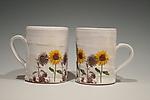 Sunflower Mug by Justin Rothshank (Ceramic Mug)