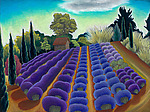 Lavender Light by Jane Aukshunas (Giclee Print)