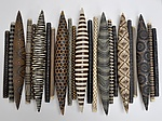 Domestic Markings by Kelly Jean Ohl (Ceramic Wall Sculpture)