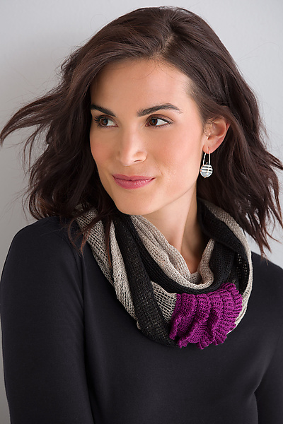 Linen Infinity Scarf