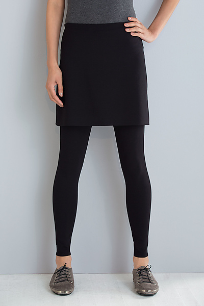 ca7d8bc470 Ponte Skirted Leggings by F.H. Clothing Co. (Knit Leggings) | Artful Home