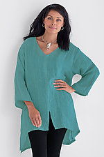 Willow Tunic by Carol Turner  (Linen Tunic)